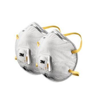 Respiraator 3M klapiga FFP1 2tk