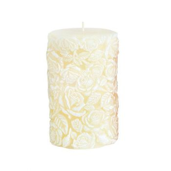 Küünal Roses 8x10cm kreem/matt 90h 5908289406603