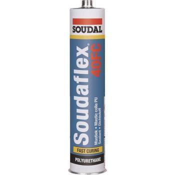 Silikoon Soudal Soudaflex 40FC must 300ml 5411183157705