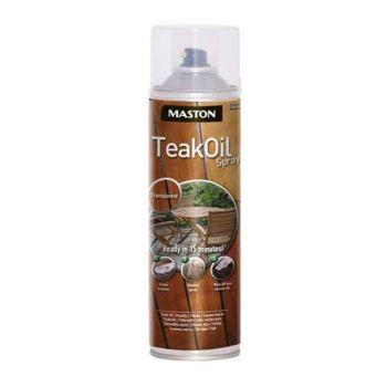 Maston Teak Oil spray 500ml värvitu 6412490005467