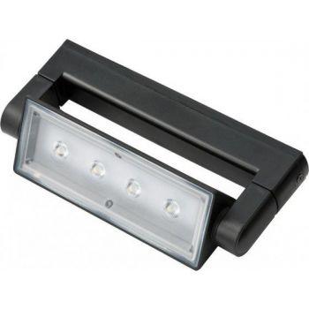 Valgusti 4x3W LED must 4007123644087