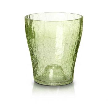 Lillepott orhideele 9cm roheline krobeline 5905925072543
