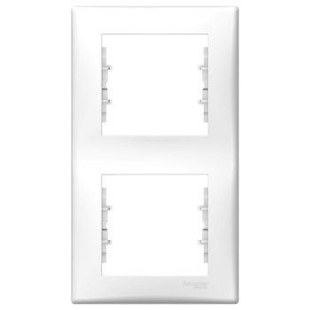 Raam Sedna 2-ne vertikaalne valge PP 8690495020137