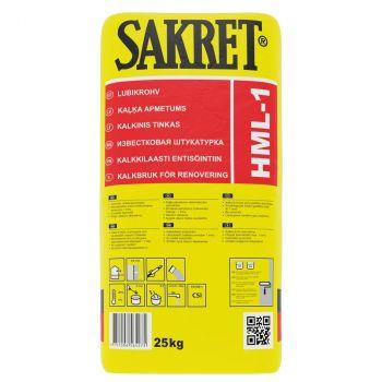 Lubikrohv Sakret HML 1mm 25kg