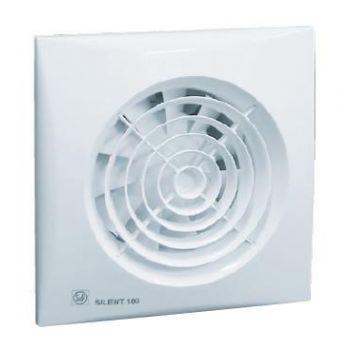 Ventilaator S&P Silent 100CHZ taimer ja niiskusandur 8413893192585