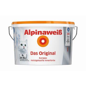 Sisevärv Alpinaweiss Das Original 4 L