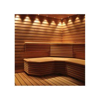 Saunavalgusti Led Light 12 matt nikkel