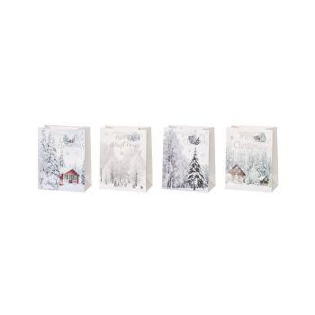 Kinkekott Merry Christmas 18x10x23cm valik