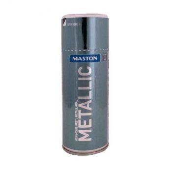 Aerosoolvärv Maston metallik hall 400ml 6412490040345