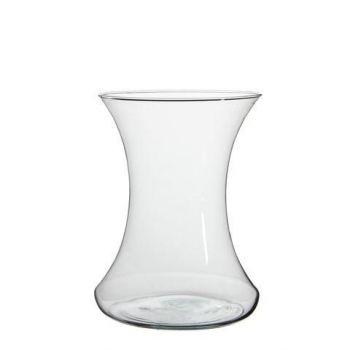 Lillevaas Tigo klaasist h25x19cm