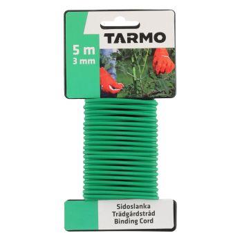 Taimesidumistraat pehme kattega 3mm 5m roheline 6410413151130