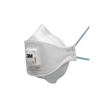 Respiraator 3M volditav, klapiga FFP2