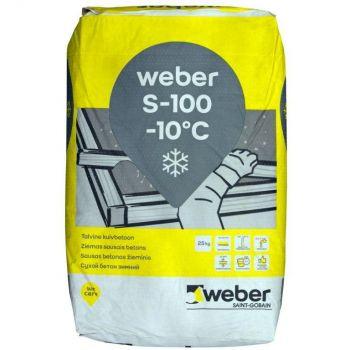 Kuivbetoon weber S100 25kg talv
