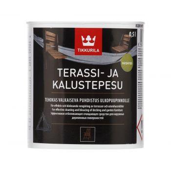 Terrassi- ja aiamööbli puhastusvahend Terassi- ja kalustepesu 0,5 l