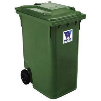 Prügikonteiner 360L roheline
