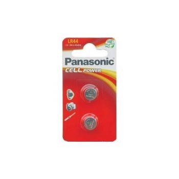Patarei Panasonic LR44  2-pakk 5410853018469