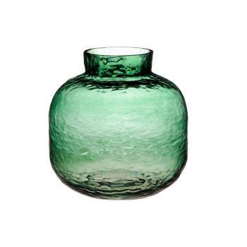 Lillevaas Jumanji klaasist 20cm roheline