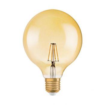 LED lamp 7W 824 E27 Vintage 1906 G125 kuld