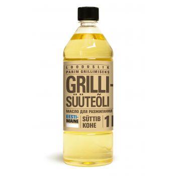 Grilli süüteõli looduslik 1L