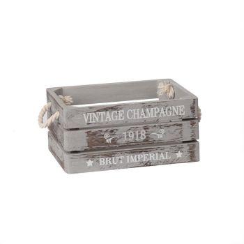 Puitkast Vintage-3 23x17xH11cm hall