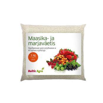 Maasika- ja marjaväetis Baltic Agro 1kg 4742604000289