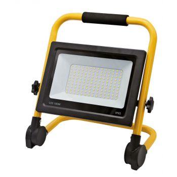 Prožektor LED 100W sangaga õhuke must 881-100 Prožektorid 4743157084559