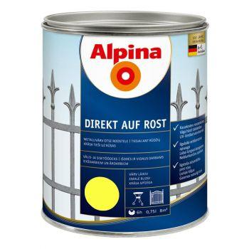 Alpina Direkt auf Rost 0,75L kollane