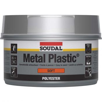Pahtel Soudal Metal Plastic pehme 1kg