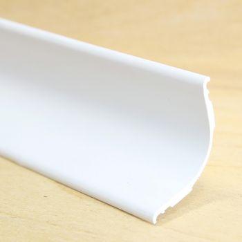 Sisenurgaliist 20x20mm 2,6m valge