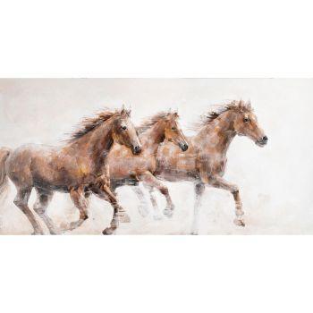 Pilt õlimaal 76x150cm hobused