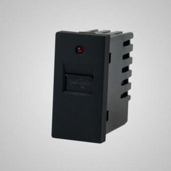 USB laadija-pesa Tenux must 47422612