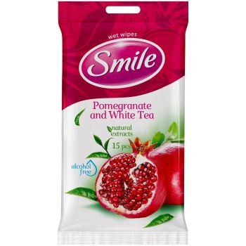 Salvrätikud niisked Smile 15tk granaatõun 4820048481977