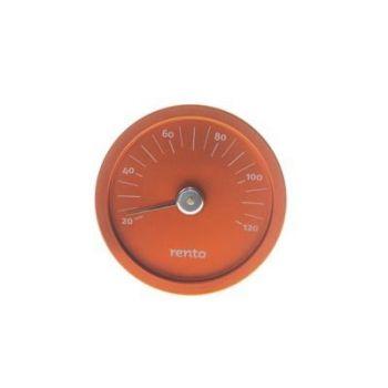 Termomeeter sauna oranž alumiiniumi