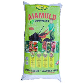 Muld Matogard 60L BIO-aiamuld kompostiga 4742014000305