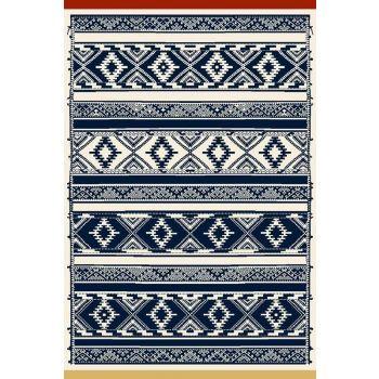 Vaip Jasmin 170x240 Navy blue