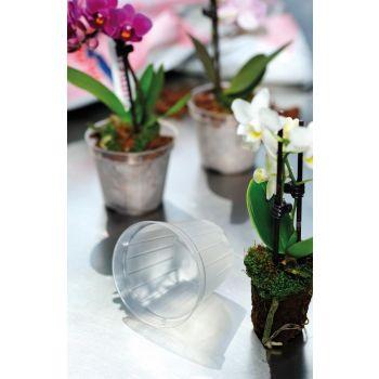 Lillepott orhideele d10cm h8cm 4027371421025