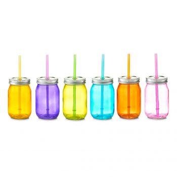 Joogipudel kõrrega 450ml värvivalik