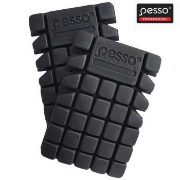Põlvekaitsmed Pesso, must KP07
