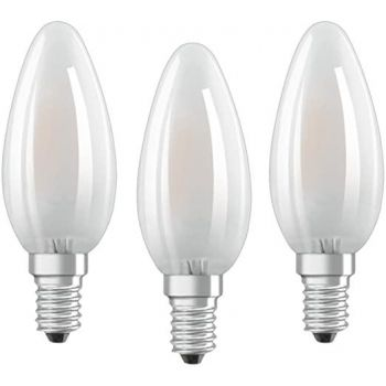 LED lamp 4W 827 E14 CLB40FR 3tk