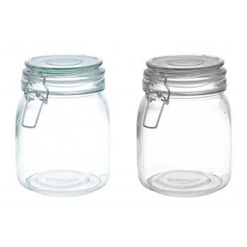 Klaaspurk klambriga kaanega M