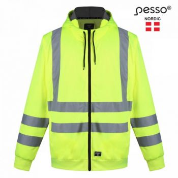 Pesso dressipluus FL03 kõrgnähtav  CL2 kollane 2XL 4772096014969