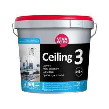 Laevärv Vivacolor Ceiling 3 4,8L
