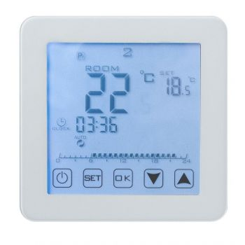 Põrandakütte termostaat Heber HT125 digitaalne HT125 Küttekaablid 4743157012552