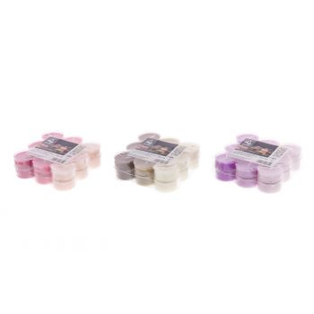 Teeküünal lõhna 18tk lavendel/roos/kaneel