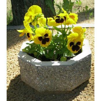 Betoonist lillevaas D28/H14cm 4744653010073