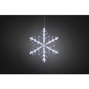 Jõuluvalgusti Lumehelves 24LED külm valge