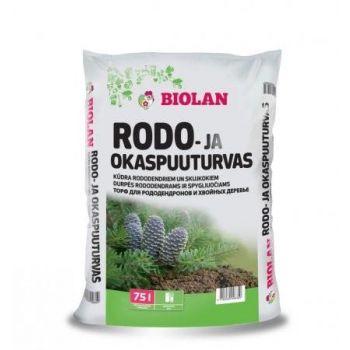 Rodo- ja okaspuuturvas Biolan 75L 55300647