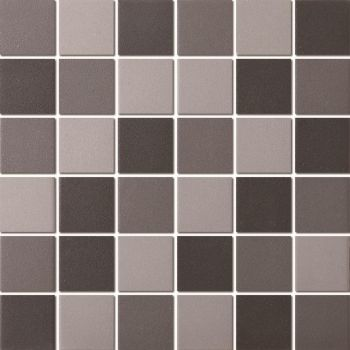 Mosaiik Unglazed dark grey mix