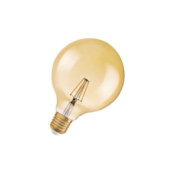 LED lamp 6,5W 824 E27 Vintage 1906 G125 kuld dimmer