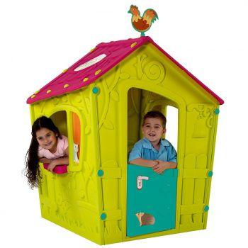 Laste mängumaja Magic roheline 110x110xh146cm 3253929000133 231596